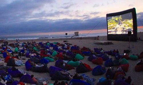 Beachfront Movies