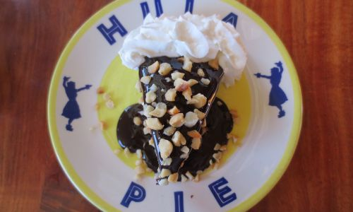 Try to win a piece of Duke's Hula Pie on National Dessert Day!