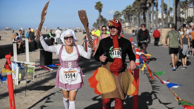 Huntington Beach Turkey Wobble