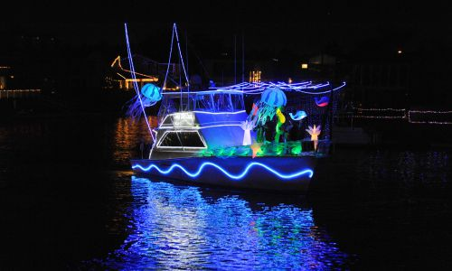 huntington harbor boat parade